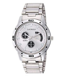 Analog Silver Dial Men's Watch