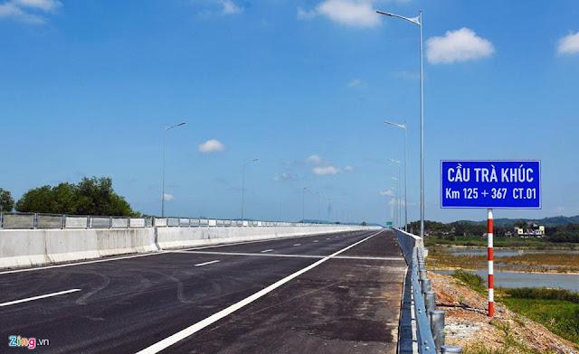 Cầu Trà Khúc trong gói thầu A5