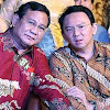 Prabowo Minta Maaf Sudah Tunjuk Ahok Sebagai Pendamping Jokowi