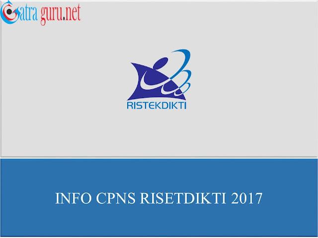 Info CPNS RISETDIKTI 2017