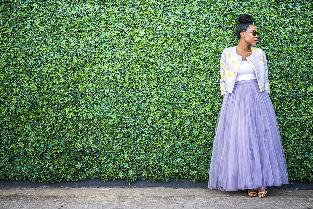 Styled: Tulle Maxi Skirt