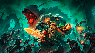Battle Chasers Nightwar Wallpaper