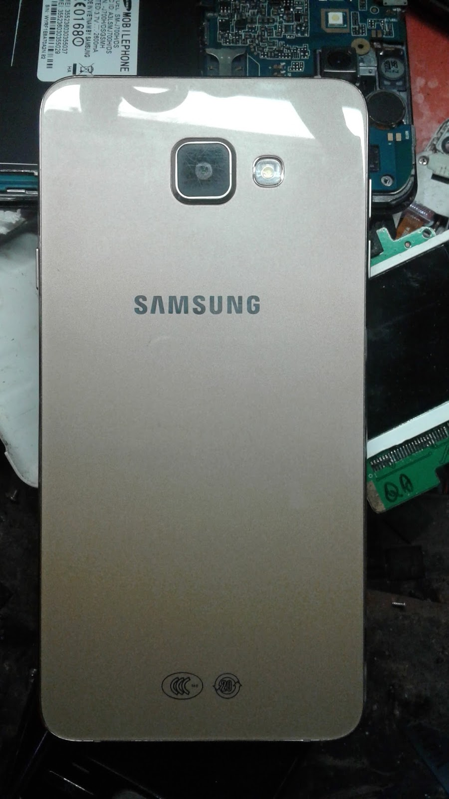Samsung A7 (2016)-Galaxy A76 Sm-A7100 Clone copy MT6580 V5.1 flash file 100% tested – hard-reset
