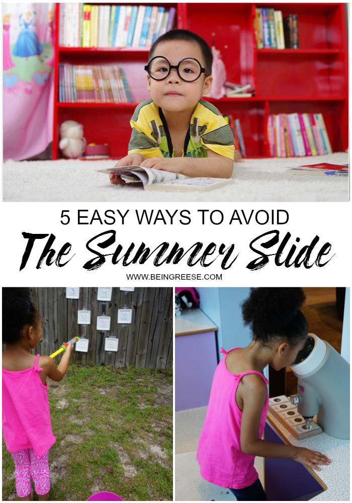 5 ways to defeat the summer slide