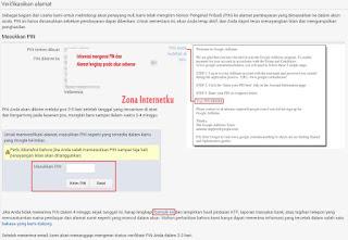 Cara Verifikasi PIN Google Adsense 2