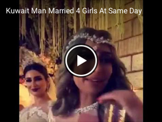 Kuwait Man Married 4 Awesome Beautiful Girls At Same Day ~ Google+