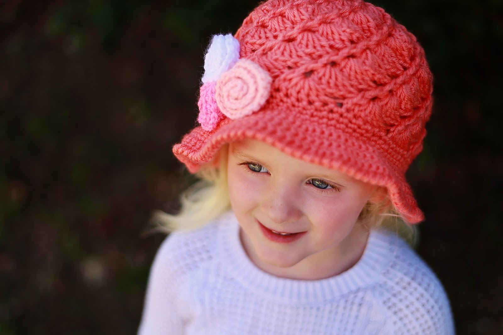Crochet Pattern Sun Hat : Crochet Dreamz: April Sun Hat, Crochet Pattern, Includes ...