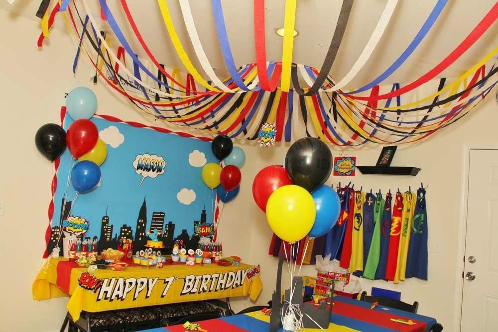 planning a superhero birthday party on a budget nheng s wonderland