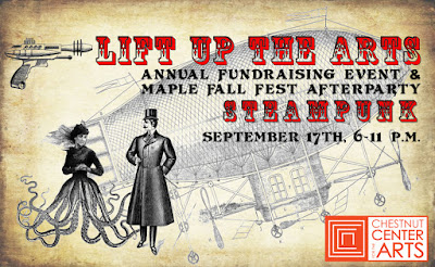 steampunk event: Lift Up the Arts' Steampunk Maple Fall Fest Afterparty September 17 2016 in Marshfield, Wisconsin