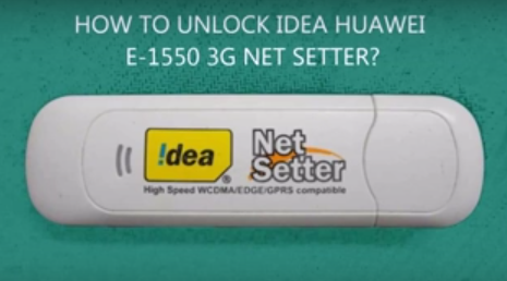 unlock idea net setter dongle
