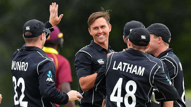New Zealand's Squad for Cricket World Cup 2019