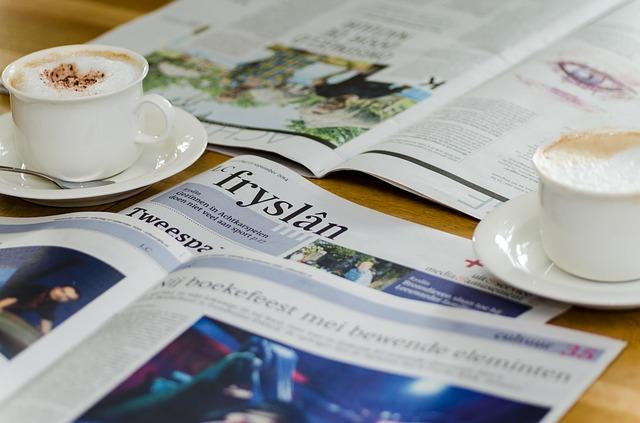 Foto de un periódico
