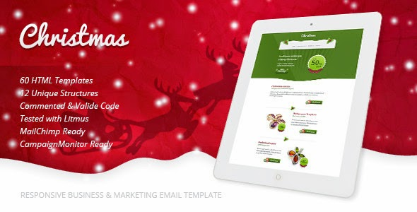 15+ Perfect Christmas Email Templates - Download New Themes
