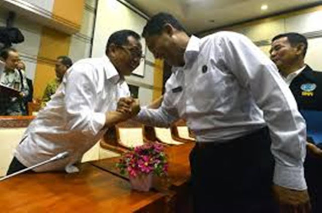 Budi Waseso Absen Pelantikan Kapolri Tito Karnavian : Hadir Upacara Serah Terima Jabatan (Sertijab)