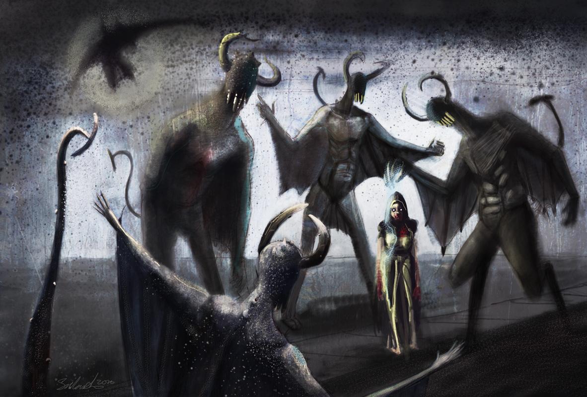 lovecraft gauntfinaLSeannMarsh - Oscuros parásitos se alimentan de tus emociones.