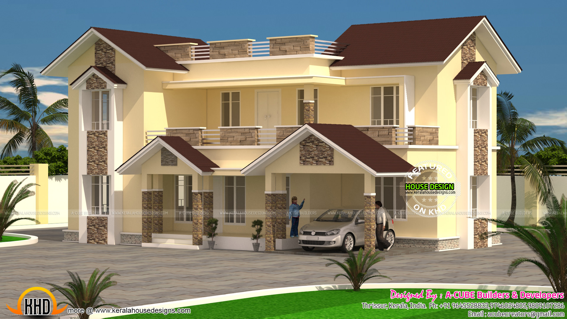 2496 sq ft typical kerala style home kerala home design bloglovin u0027
