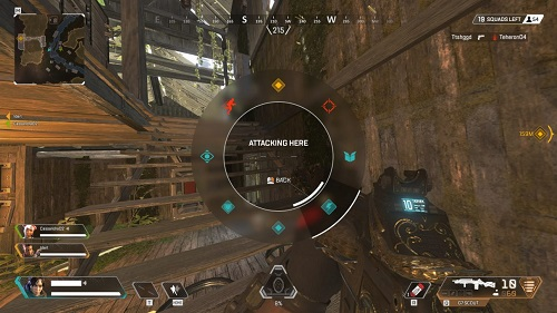 Ping Wheel in Apex Legends