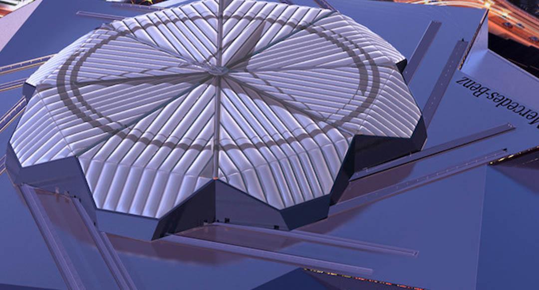 Insane MercedesBenz Stadium Revealed  Footy Headlines