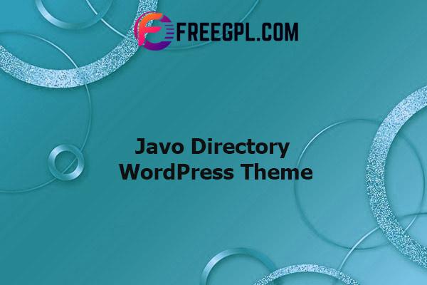 Javo Directory WordPress Theme Nulled Download Free
