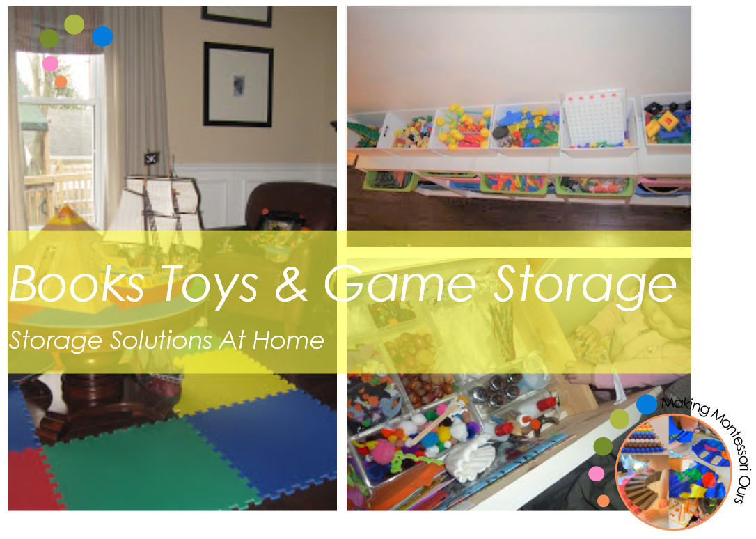 We Thought It Would Be Fun To Share Some Of Our Storage At Home. We Have A  Large Collection Of Books, Games And Toys That Live With Us.