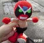 patron gratis strong bad's amigurumi, free amiguru pattern strong bad's