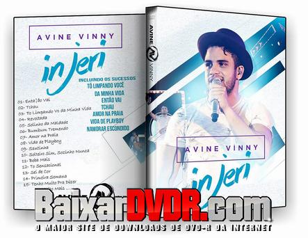 Avine Vinny ao Vivo Em Jericoacoara-CE (2017) DVD-R OFICIAL