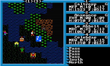 Imagenes del juego Ultima III