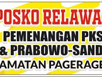 Download Spanduk Posko Relawan Pemenangan PKS Format CDR