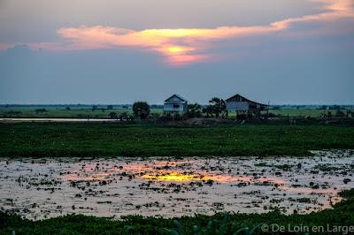 Phnom Krom - Siem Reap - Tonlé Sap - Cambodge