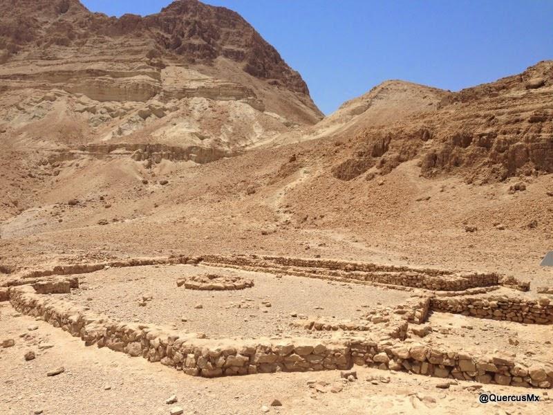 Ruinas del Templo Chalcholite en Ein Gedi