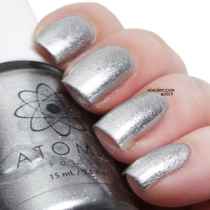 xoxoJen's swatch of Atomic AG (Silver)