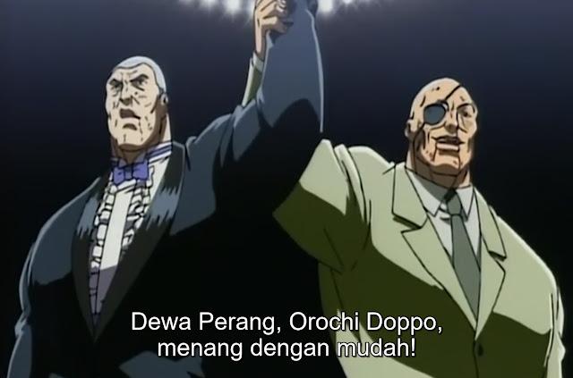 Baki The Grappler Episode 30 Subtitle Indonesia