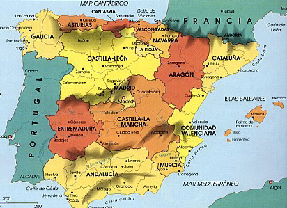 Spain Physical geography of spain