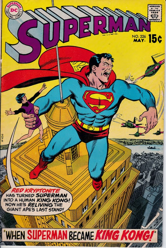 Superman 226 May 1970 Issue Dc Comics When Superman
