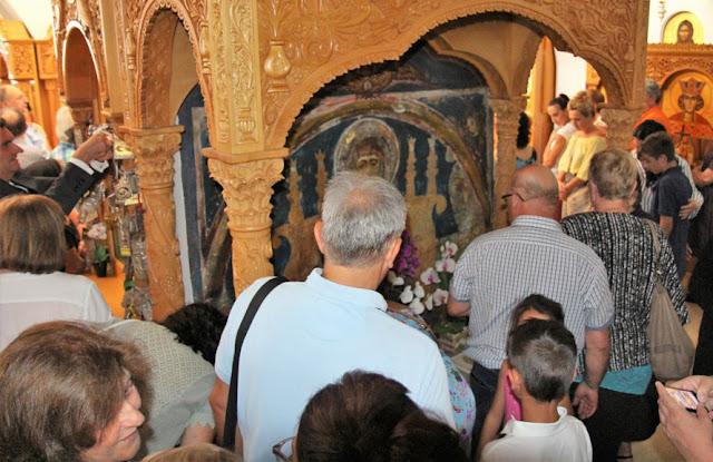 Θεσπρωτία: Στον τάφο της αγίας Παρασκευής, στη Μονή Πούντας, προσκύνησε πλήθος πιστών...