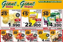 Katalog Promo Giant Weekday 24 - 27 September 2018