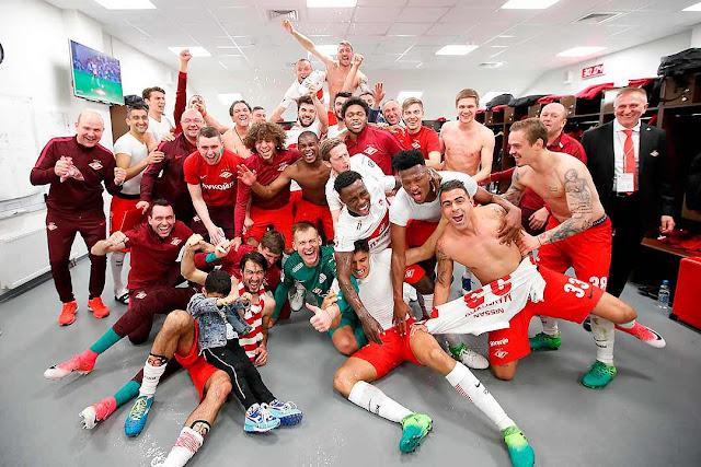 O campeão voltou: Spartak é campeão russo depois de 16 anos