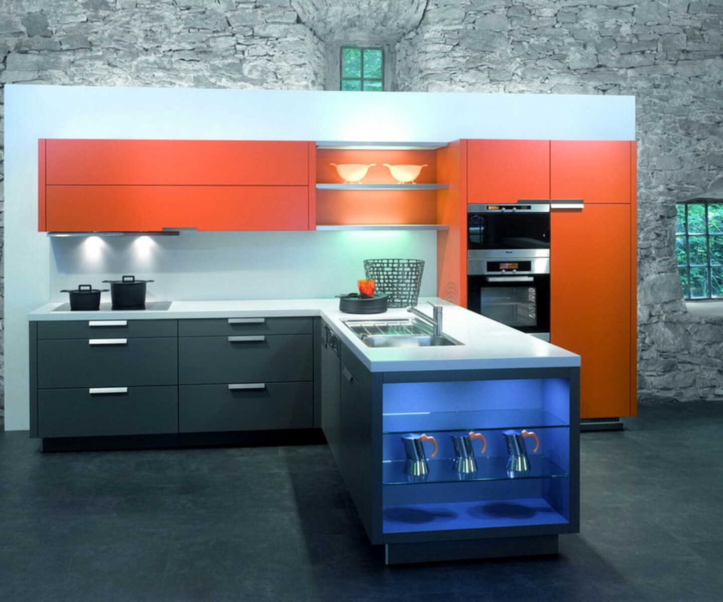 New Home Designs Latest Ultra Modern Kitchen Designs Ideas: Home Priority: Present The Unconventional Kitchen