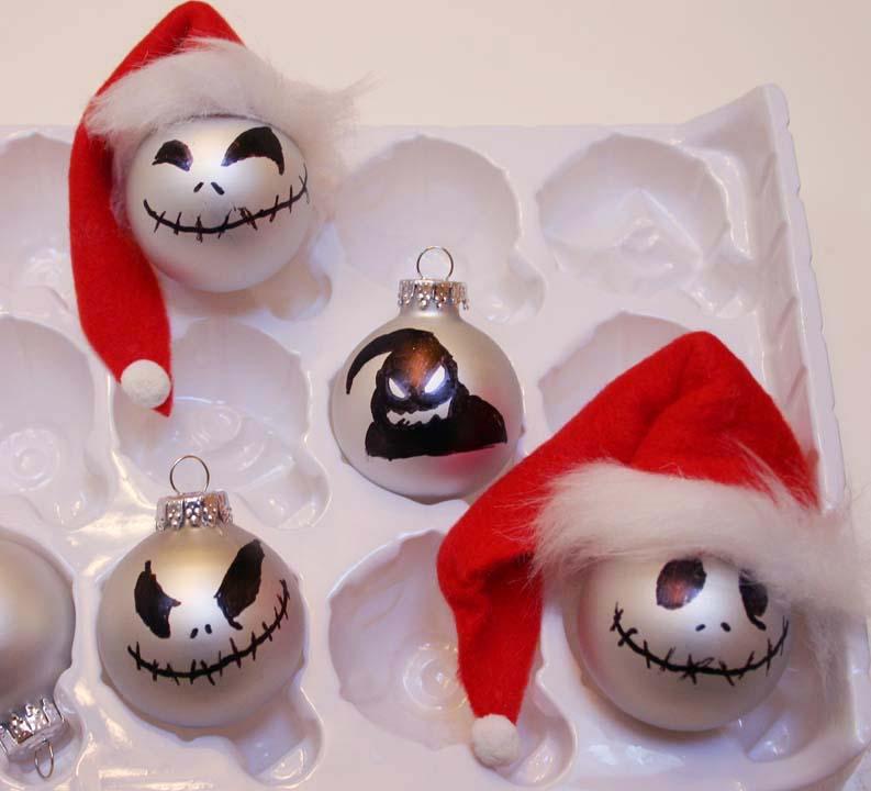 Jack Skellington Christmas Ornament: Sleepy In Seattle: Jack Skellington Ornaments