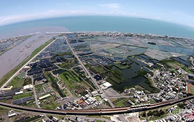 屏東光采濕地 (圖片為台灣太陽光電產業協會提供)
