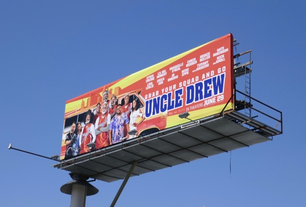 Uncle Drew billboard
