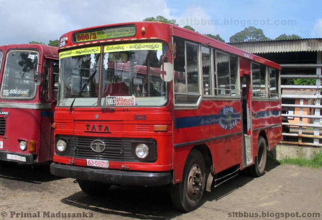 Sltb Buses -    Ruby Bodied Tata 909 Bus From -6503