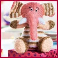 Elefantito de punto