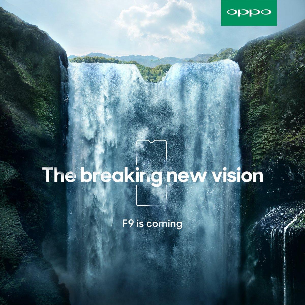 Akan Hadir, Terlihat OPPO F9 dengan Waterdrop Screen Tech news Android