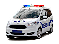 Yeni polis arabası