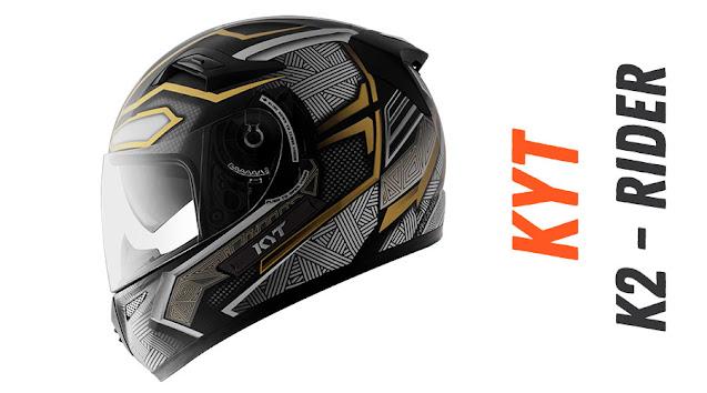 KYT K2 Rider Black Phanter