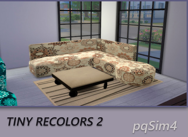 Tiny recolores 2. Sofas 4