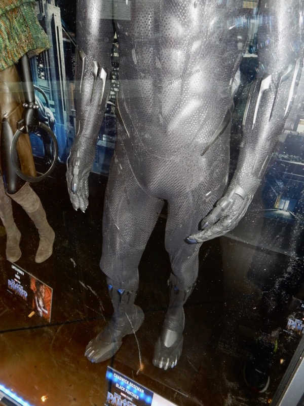Black Panther body costume detail