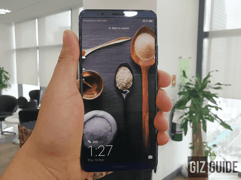 Huawei Mate 10 Pro will be available in the Philippines starting tom!