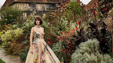 Moda muy florida en Great Dixter Gardens